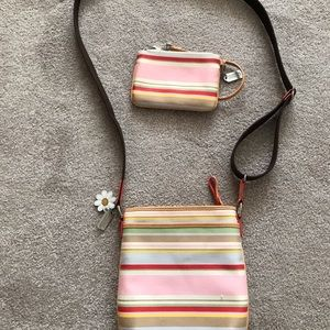 Coach bag and change purse